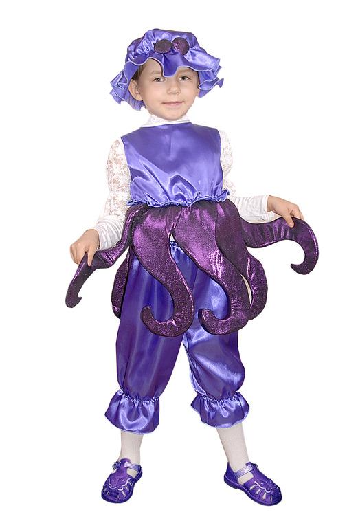 Костюм осьминога своими руками